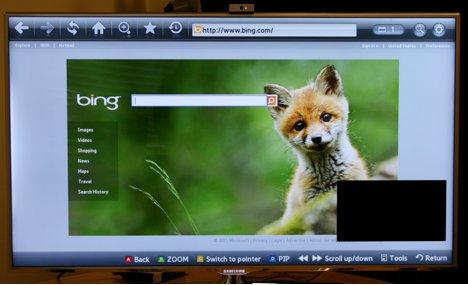 Navigare in internet con Smart TV Samsung - Blotek it