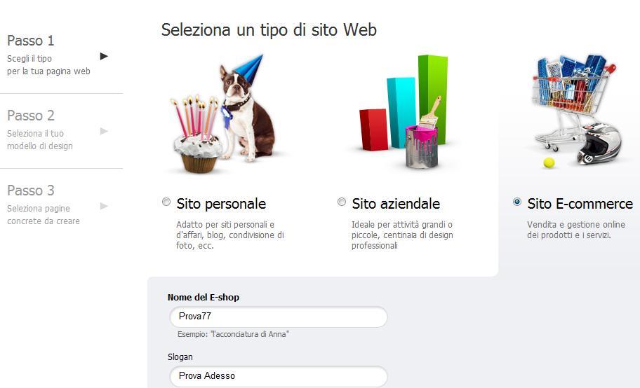 Crea gratis il tuo sito web responsive con webnode for Sito web piano gratuito