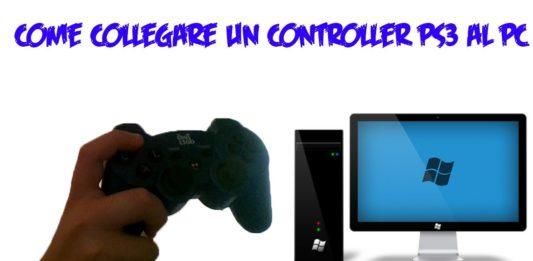 Come collegare il controller PS3 al PC