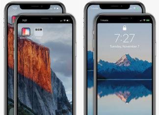 Come far sparire il notch con un'app su iPhone X