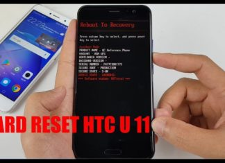 Come fare hard reset HTC U11