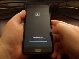 Come fare hard reset OnePlus 5