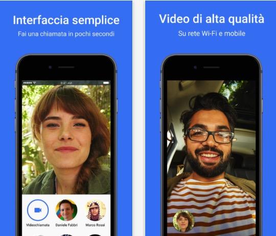 Come fare una videochiamata con Google Duo