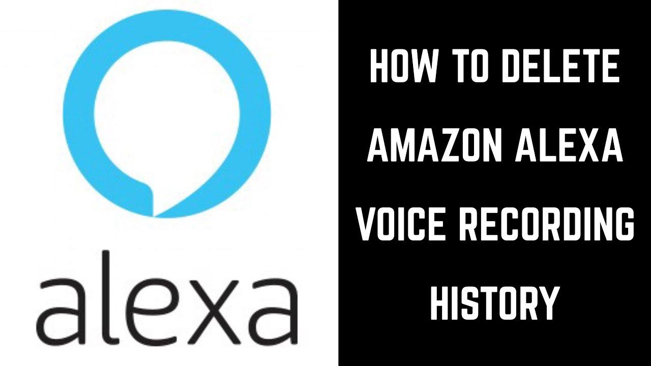 Come rimuovere tutte le registrazioni vocali chieste ad Alexa
